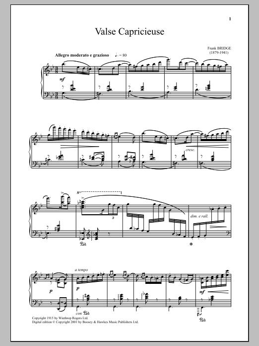 Valse Capricieuse (Piano Solo)