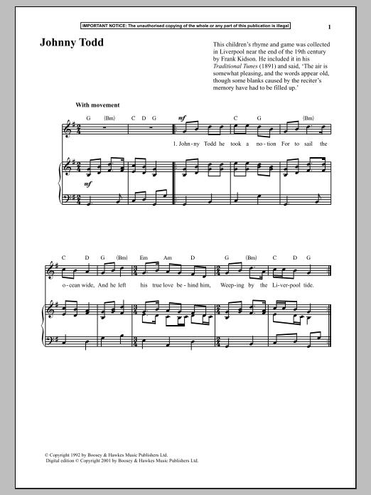 Johnny Todd (Piano & Vocal)