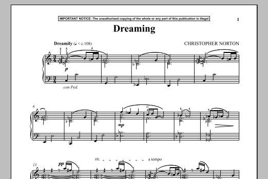 Dreaming (Piano Solo)