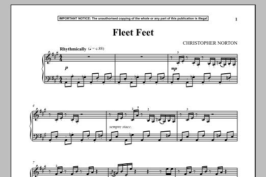 Fleet Feet (Piano Solo)