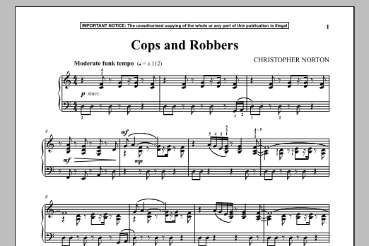 Cops And Robbers (Piano Solo)
