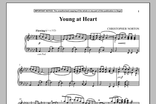 Young At Heart (Piano Solo)