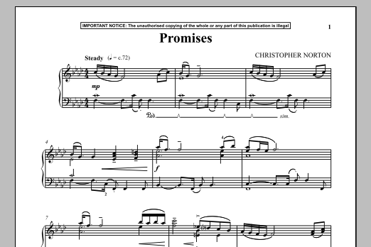 Promises (Piano Solo)