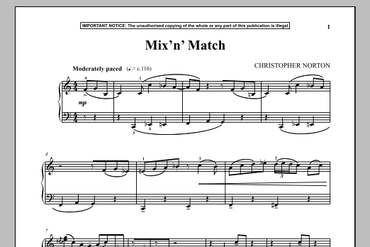 Mix N Match (Piano Solo)
