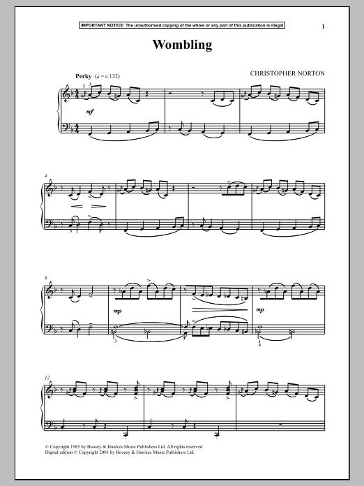 Wombling (Piano Solo)