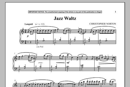 Jazz Waltz (Piano Solo)