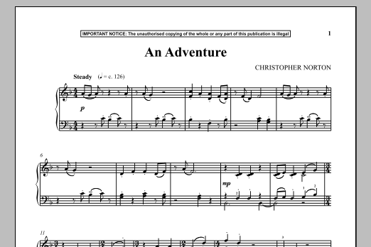 An Adventure (Piano Solo)