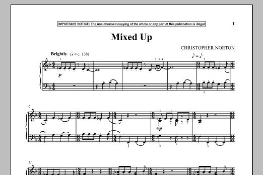 Mixed Up (Piano Solo)