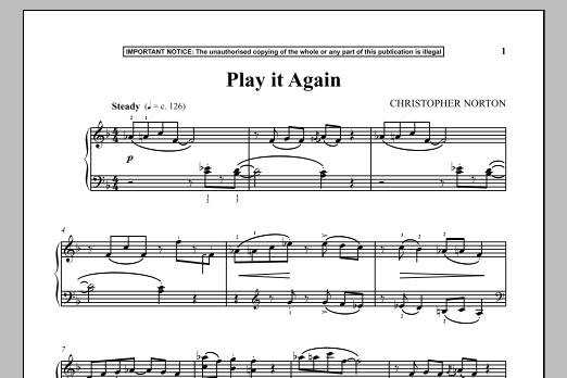 Play It Again (Piano Solo)