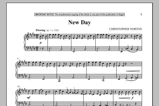 New Day (Piano Solo)