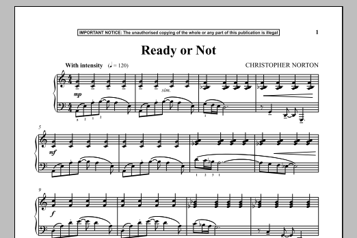 Ready Or Not (Piano Solo)