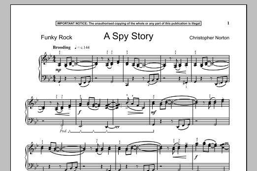 A Spy Story (Piano Solo)