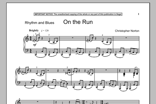 On The Run (Piano Solo)