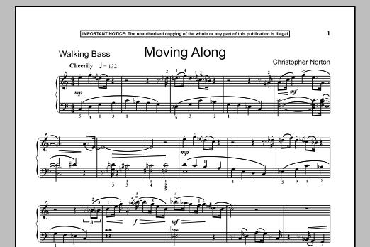 Moving Along (Piano Solo)