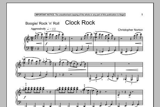 Clock Rock (Piano Solo)
