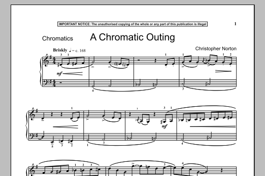 A Chromatic Outing (Piano Solo)