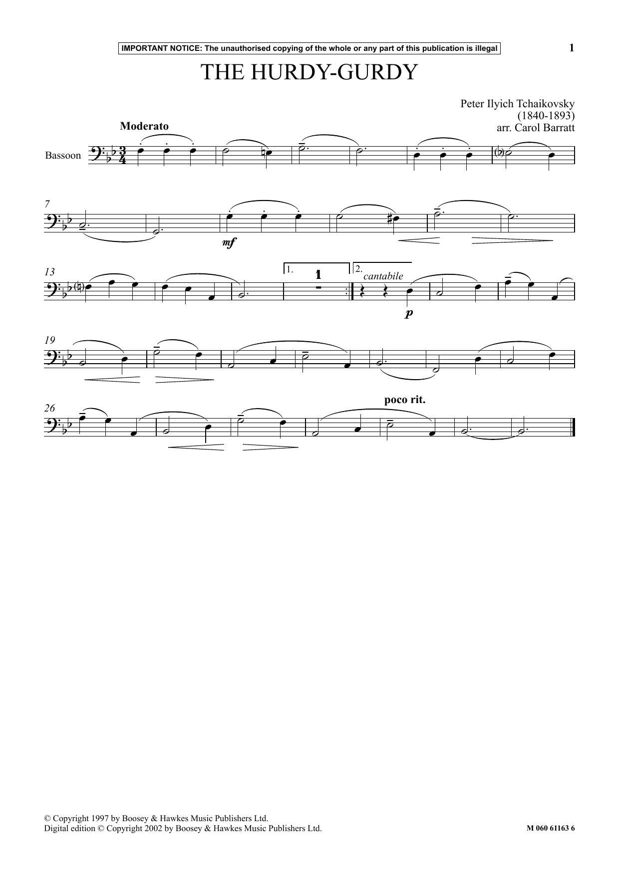 The Hurdy-Gurdy (Instrumental Solo)