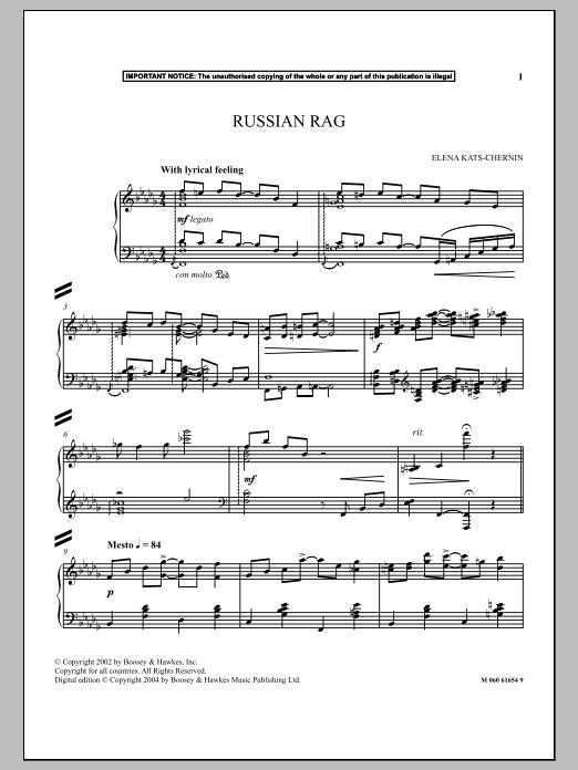Russian Rag Sheet Music