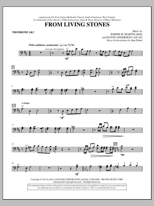 From Living Stones - Trombone 1 & 2 (Choir Instrumental Pak)
