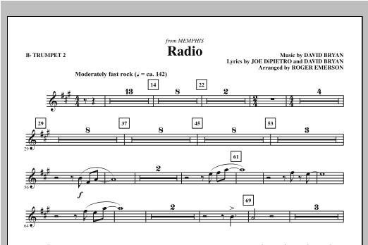 Radio - Bb Trumpet 2 (Choir Instrumental Pak)