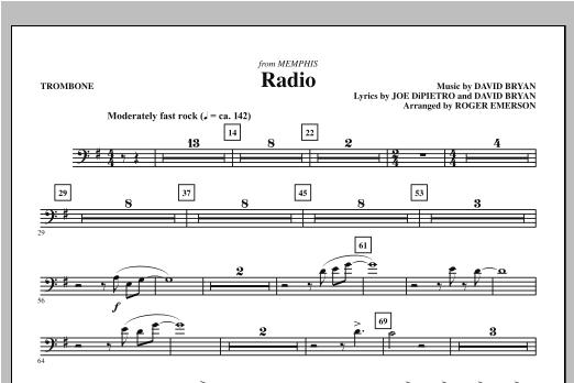 Radio - Trombone (Choir Instrumental Pak)