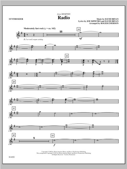 Radio - Synthesizer (Choir Instrumental Pak)