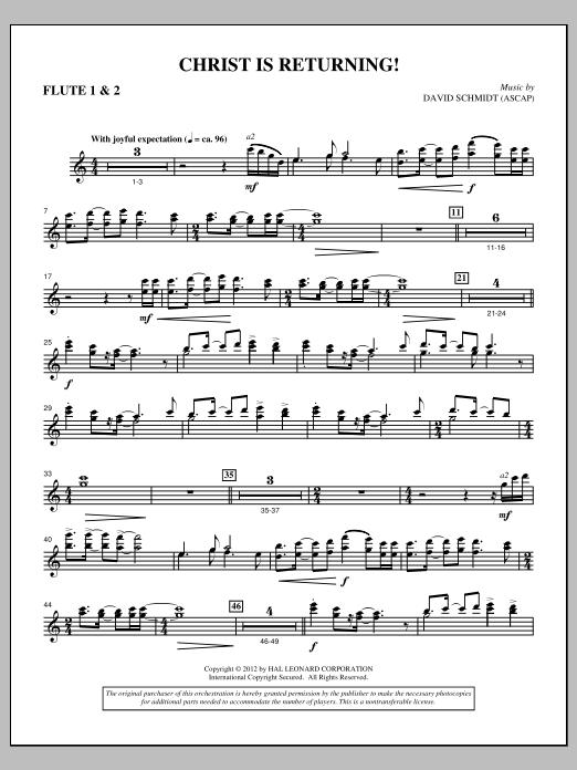 Christ Is Returning! - Flute 1 & 2 Sheet Music