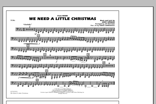 we need a little christmas 1st bb trumpet by jerry herman jay bocook