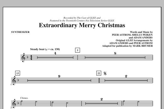 Extraordinary Merry Christmas - Synthesizer (Choir Instrumental Pak)