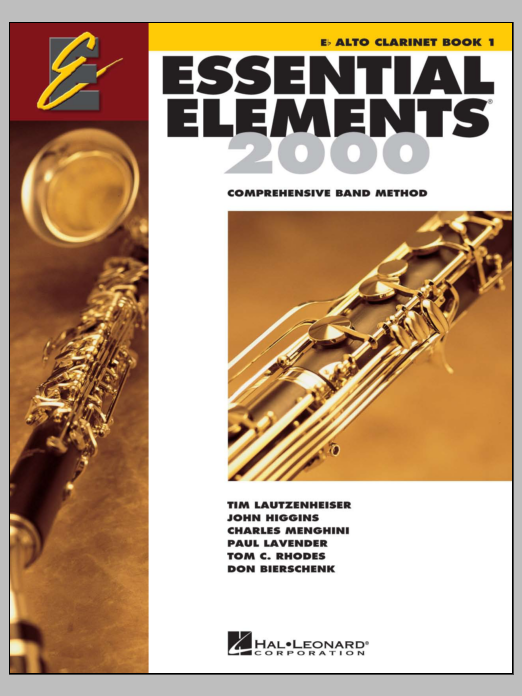 Essential Elements 2000, Book 1 For Eb Alto Clarinet (Book Only) Partition Digitale