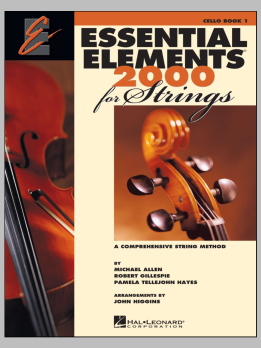 Essential Elements 2000 For Strings Book 1 - Cello (Book Only) Sheet Music