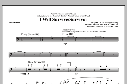 I Will Survive/Survivor - Trombone Sheet Music