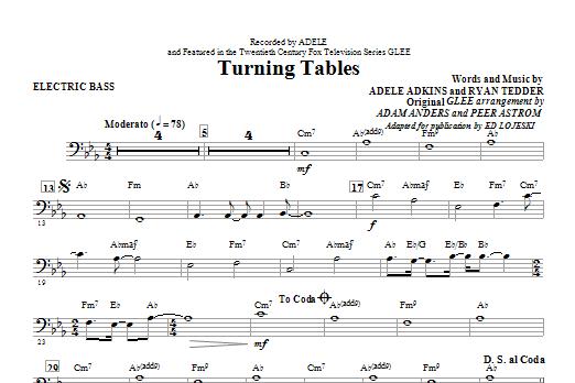 Turning Tables - Electric Bass (Choir Instrumental Pak)
