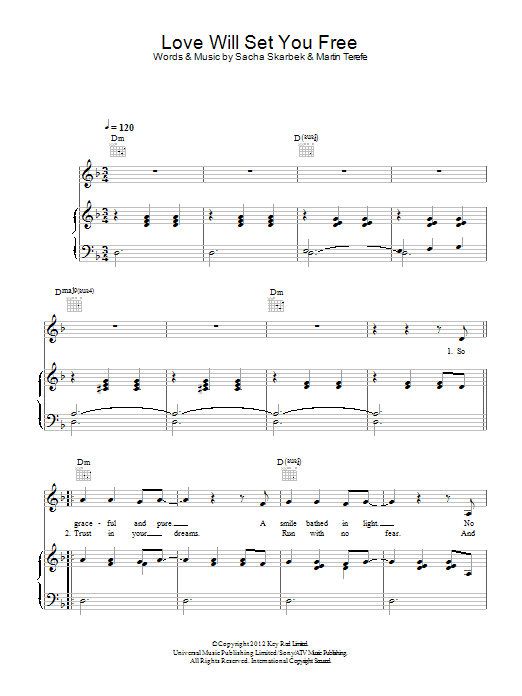 Love Will Set You Free Sheet Music