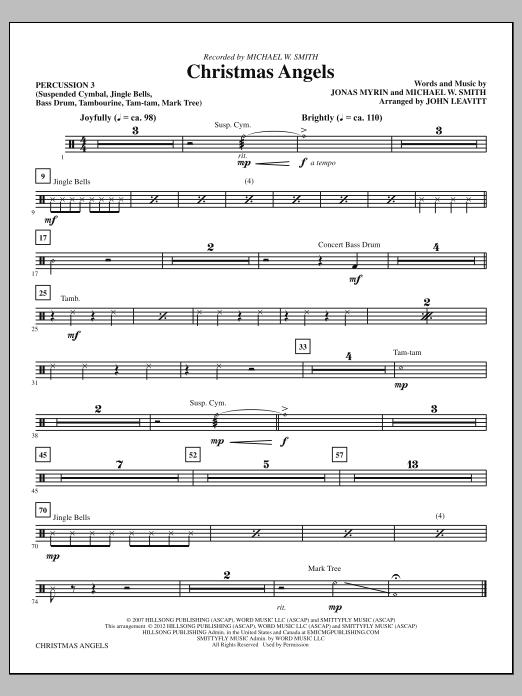 Christmas Angels - Percussion 3 (Choir Instrumental Pak)