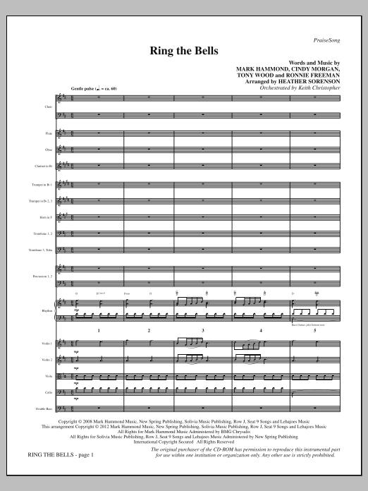 Ring The Bells - Full Score Sheet Music
