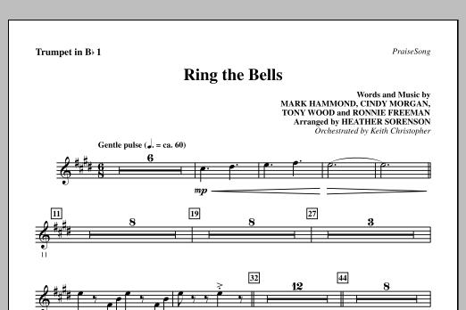Ring The Bells - Bb Trumpet 1 (Choir Instrumental Pak)
