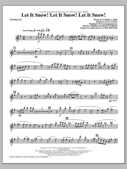 Let It Snow! Let It Snow! Let It Snow! - Tenor Sax (Choir Instrumental Pak)