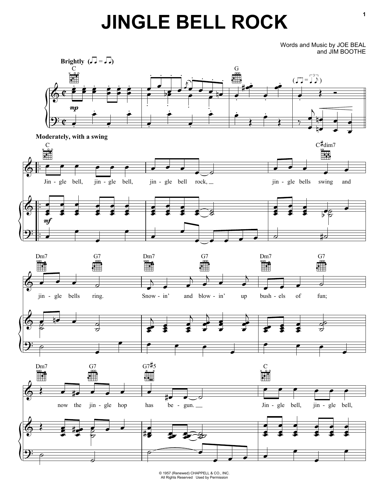 Jingle-Bell Rock | Sheet Music Direct