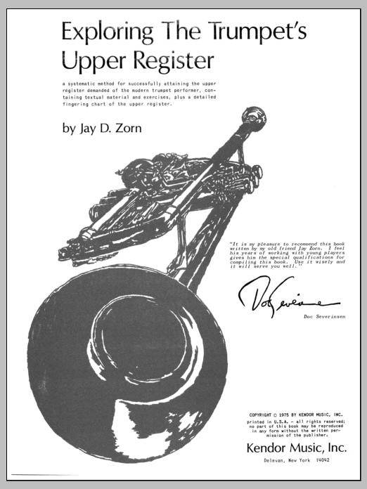 Exploring The Trumpet's Upper Register Sheet Music