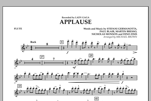 Applause - Flute (Concert Band)
