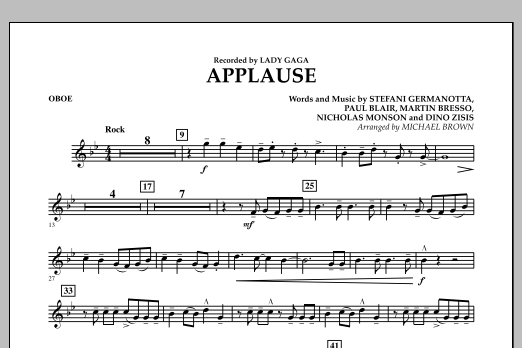 Applause - Oboe (Concert Band)