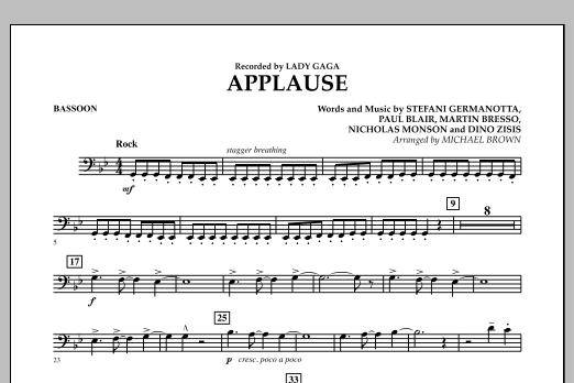 Applause - Bassoon (Concert Band)