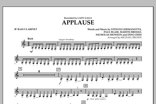 Applause - Bb Bass Clarinet (Concert Band)