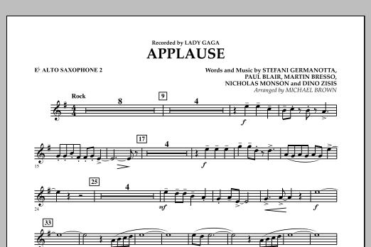 Applause - Eb Alto Saxophone 2 (Concert Band)