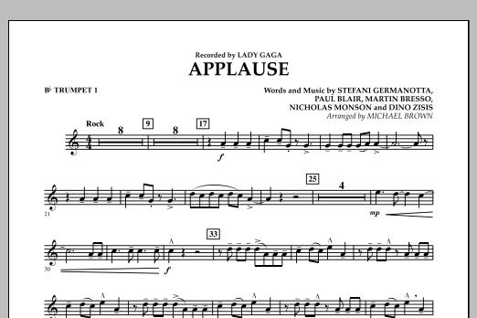Applause - Bb Trumpet 1 (Concert Band)