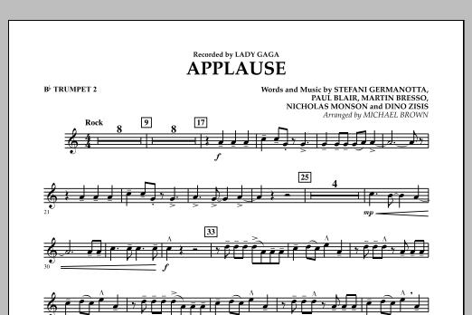 Applause - Bb Trumpet 2 (Concert Band)