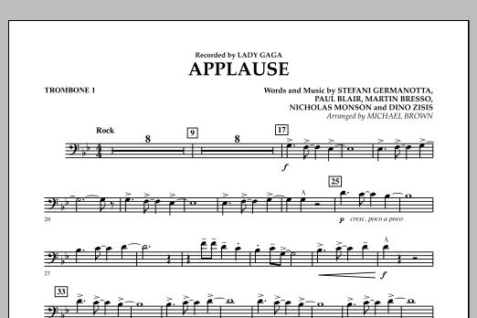 Applause - Trombone 1 (Concert Band)