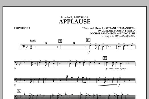 Applause - Trombone 2 (Concert Band)