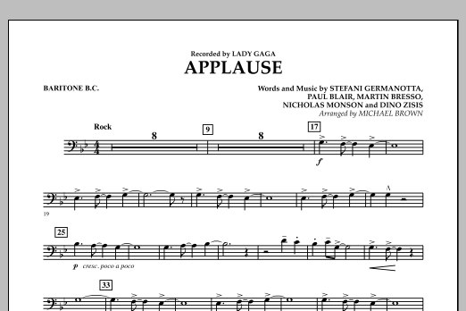 Applause - Baritone B.C. (Concert Band)